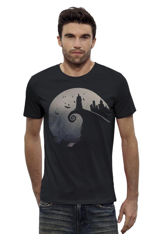 Футболка Wearcraft Premium Slim Fit Printio Бэтмен футболка wearcraft premium slim fit printio шахматиста