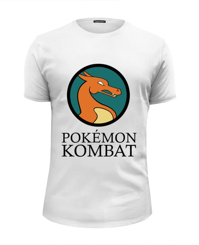 Футболка Wearcraft Premium Slim Fit Printio Покемон комбат футболка wearcraft premium slim fit printio покемон кадабра