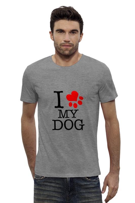 Футболка Wearcraft Premium Slim Fit Printio I love my dog футболка wearcraft premium slim fit printio gta 5 dog