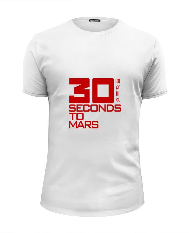 Футболка Wearcraft Premium Slim Fit Printio Группа 30 seconds to mars футболка wearcraft premium printio рок группа deep purple