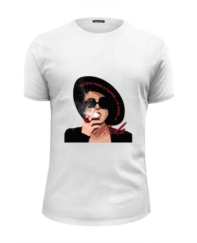 Футболка Wearcraft Premium Slim Fit Printio Марла сингер (бойцовский клуб) футболка wearcraft premium slim fit printio виталий седов фан клуб