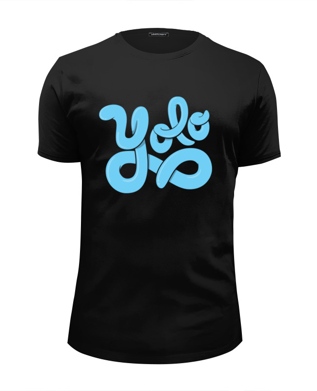 Футболка Wearcraft Premium Slim Fit Printio Yolo (you only live once) medellin once caldas