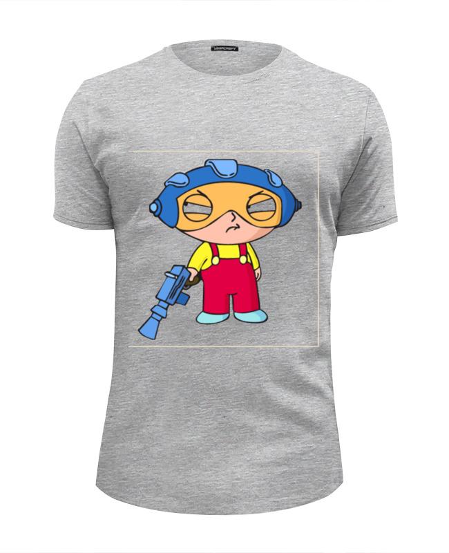 Футболка Wearcraft Premium Slim Fit Printio Гриффины футболка wearcraft premium slim fit printio гриффины