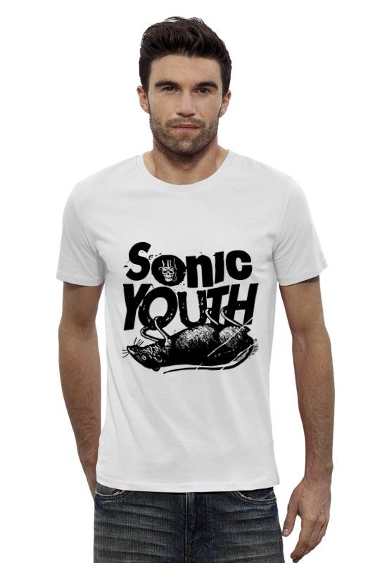Футболка Wearcraft Premium Slim Fit Printio Sonic youth sonic youth sonic youth rather ripped