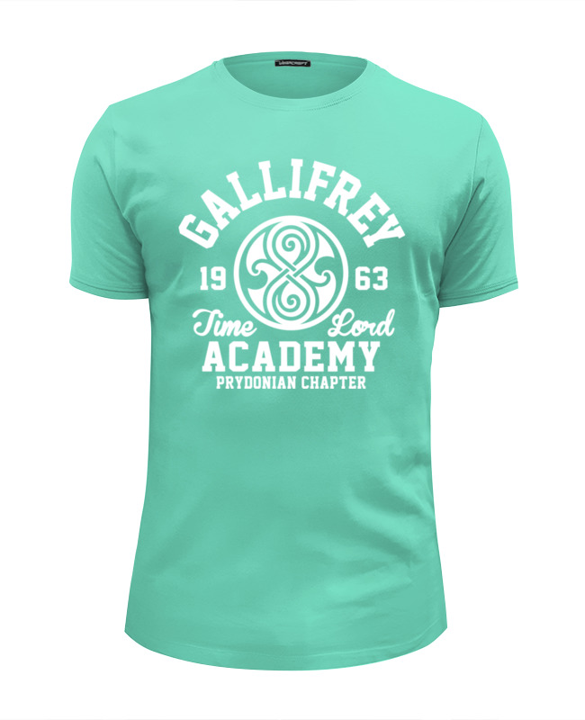 Футболка Wearcraft Premium Slim Fit Printio Gallifrey time lord academy футболка wearcraft premium printio доктор кто time lord