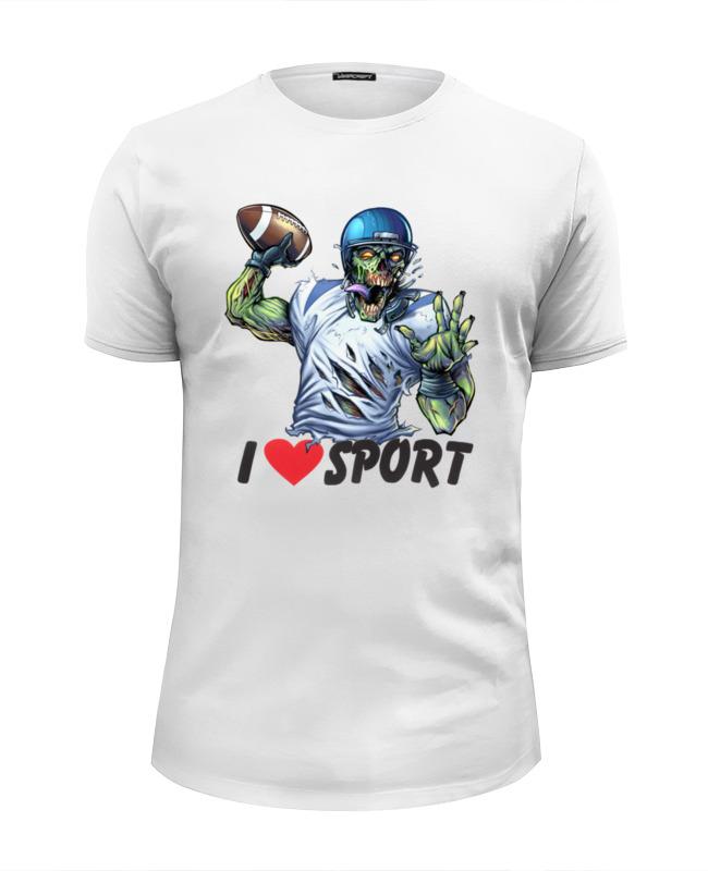 купить Printio Зомби спорт - я люблю спорт по цене 990 рублей