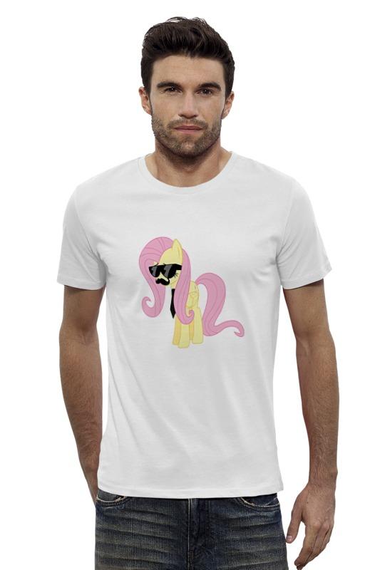 Футболка Wearcraft Premium Slim Fit Printio My little pony - fluttershy (флаттершай) футболка wearcraft premium slim fit printio my little pony