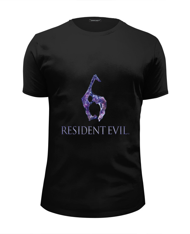 Футболка Wearcraft Premium Slim Fit Printio Resident evil 6 sony ps4 resident evil revelations [русские субтитры]