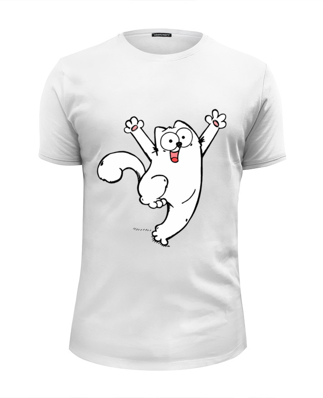 Printio simon's cat футболка wearcraft premium printio black cat