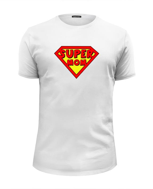Printio Супер мама футболка wearcraft premium slim fit printio афро мама