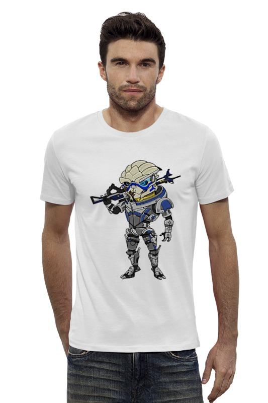 Футболка Wearcraft Premium Slim Fit Printio Гаррус вакариан футболка для беременных printio гаррус вакариан