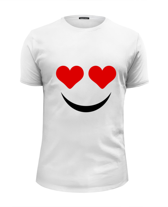 все цены на Футболка Wearcraft Premium Slim Fit Printio Футболка улыбка онлайн