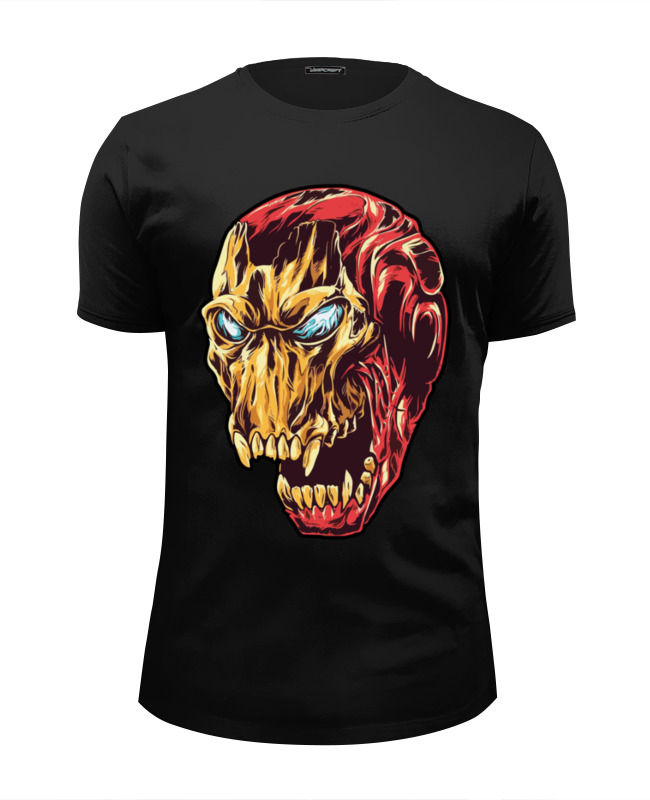 Футболка Wearcraft Premium Slim Fit Printio Ironman / железный человек футболка wearcraft premium slim fit printio ктулху железный человек