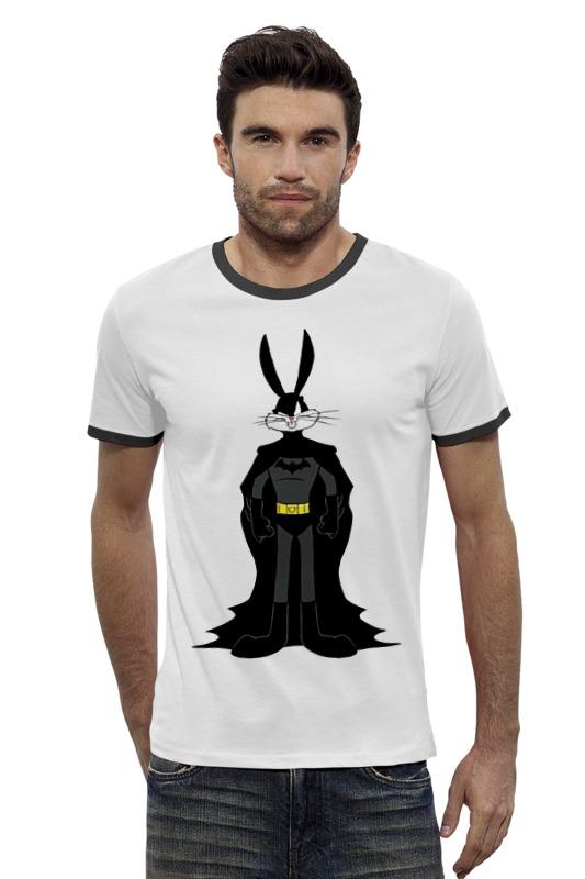 Футболка Wearcraft Premium Slim Fit Printio Банни бэтмен