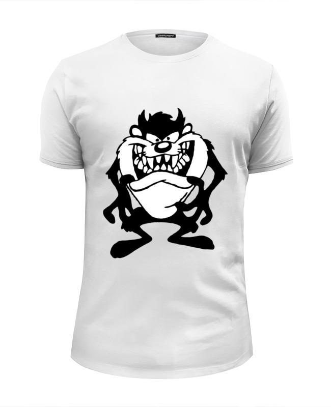Футболка Wearcraft Premium Slim Fit Printio Тасманский дьявол футболка wearcraft premium slim fit printio тасманский дьявол