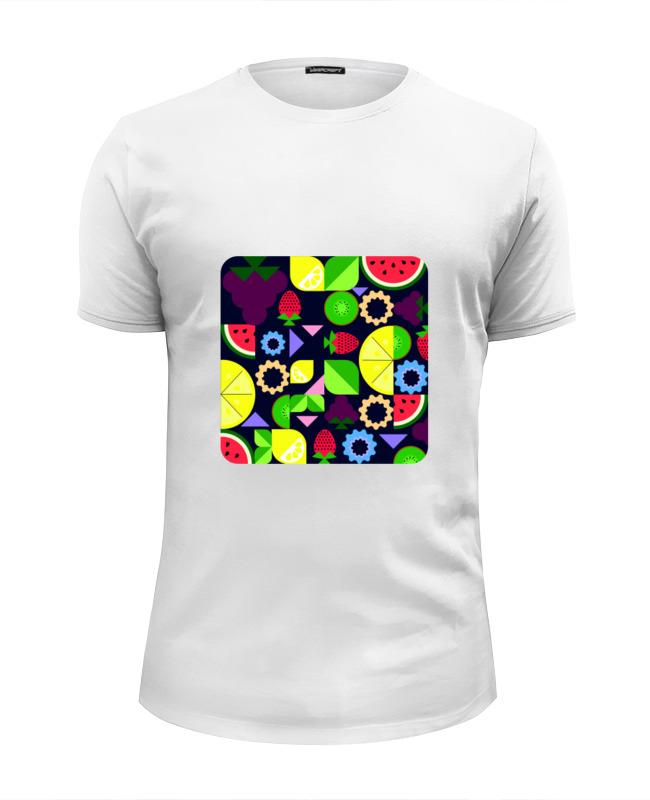 Футболка Wearcraft Premium Slim Fit Printio Виноград и другие фрукты и ягоды футболка print bar фрукты и ягоды