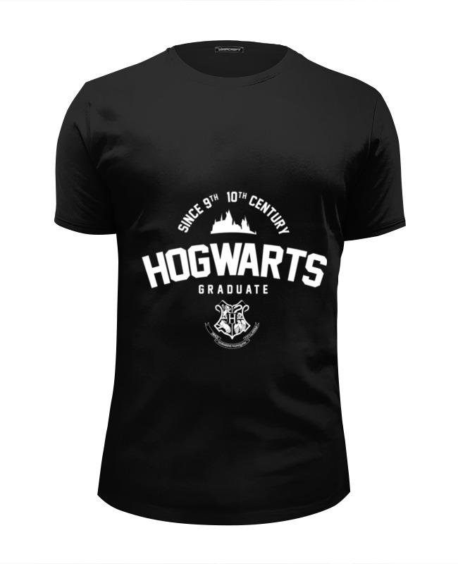Футболка Wearcraft Premium Slim Fit Printio Hogwarts graduate by design ministry