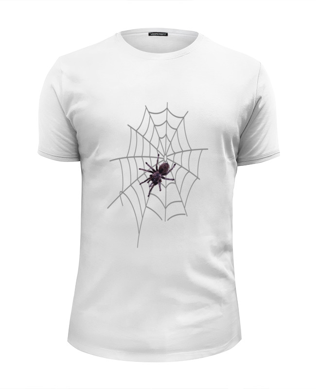 Футболка Wearcraft Premium Slim Fit Printio Большой паук большой мохнатый паук