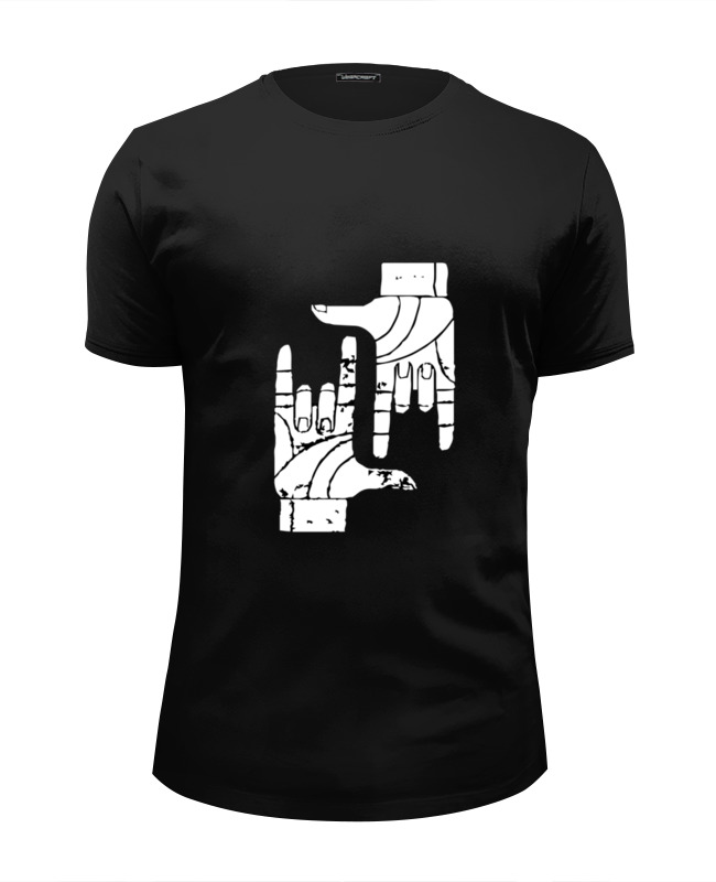 Футболка Wearcraft Premium Slim Fit Printio Две руки футболка wearcraft premium printio две руки