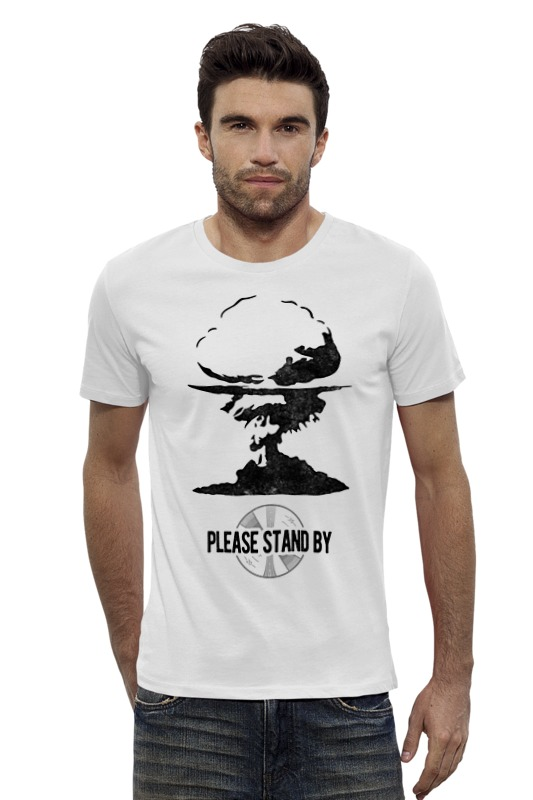 Футболка Wearcraft Premium Slim Fit Printio Fallout футболка wearcraft premium slim fit printio шахматиста