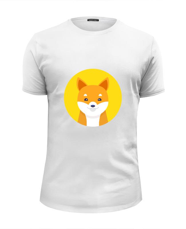 Футболка Wearcraft Premium Slim Fit Printio Собачка футболка wearcraft premium slim fit printio миньон