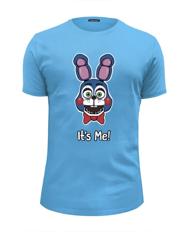 Футболка Wearcraft Premium Slim Fit Printio Бонни ( bonnie the bunny)