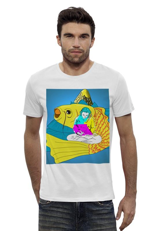 Футболка Wearcraft Premium Slim Fit Printio Вселенная любит тебя футболка wearcraft premium printio украина мы любим тебя