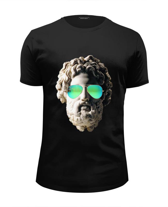 Футболка Wearcraft Premium Slim Fit Printio Греческий бог футболка wearcraft premium printio греческий бог
