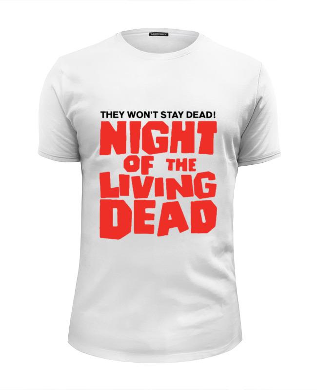 Футболка Wearcraft Premium Slim Fit Printio Ночь живых мертвецов (ходячие мертвецы) артем тихомиров ночь мертвых живых