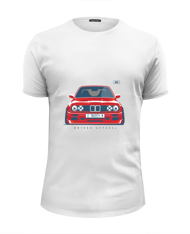 Футболка Wearcraft Premium Slim Fit Printio Bmw e30 m3 радиоуправляемая машина hpi racing туринг 1 10 rs4 sport 3 bmw e30 m3