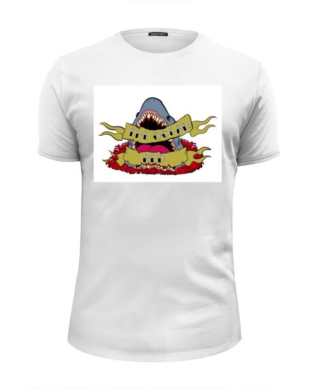 Футболка Wearcraft Premium Slim Fit Printio Shark футболка wearcraft premium printio bape shark
