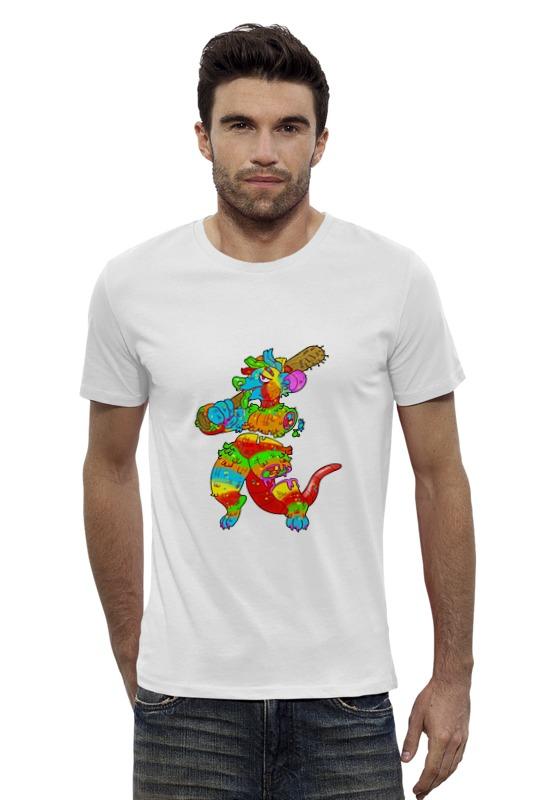 Футболка Wearcraft Premium Slim Fit Printio Динозвар футболка wearcraft premium slim fit printio фенрир