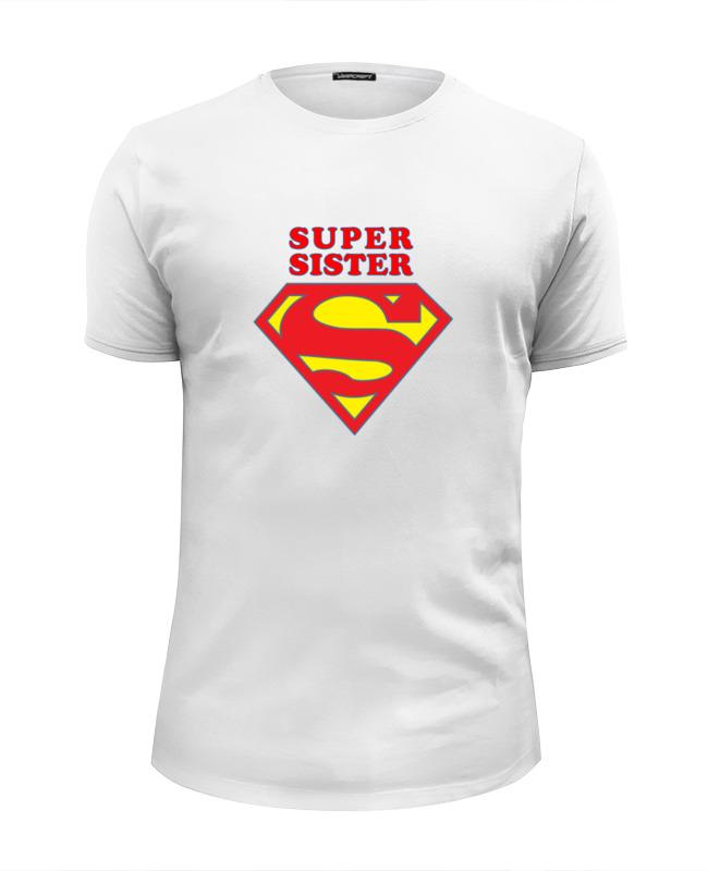 Футболка Wearcraft Premium Slim Fit Printio Super sister футболка wearcraft premium printio super sister