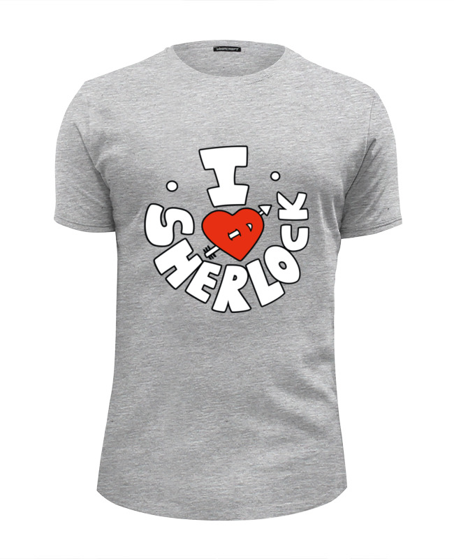 Футболка Wearcraft Premium Slim Fit Printio I love sherlock футболка wearcraft premium slim fit printio i love ny
