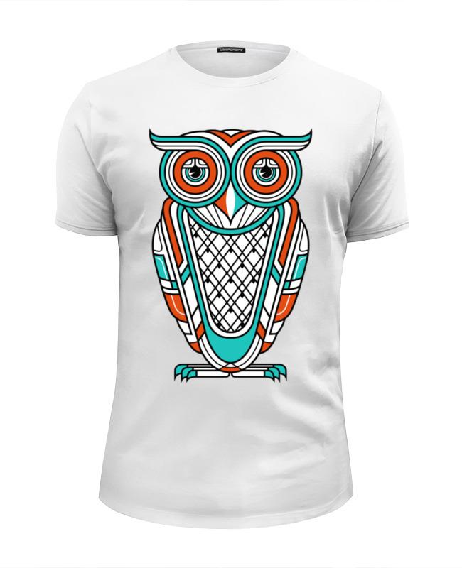 Футболка Wearcraft Premium Slim Fit Printio Сова (owl) цены онлайн