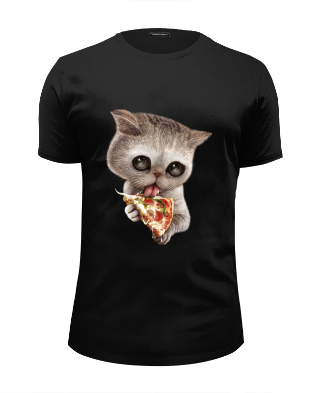 Футболка Wearcraft Premium Slim Fit Printio Любимая пицца цены