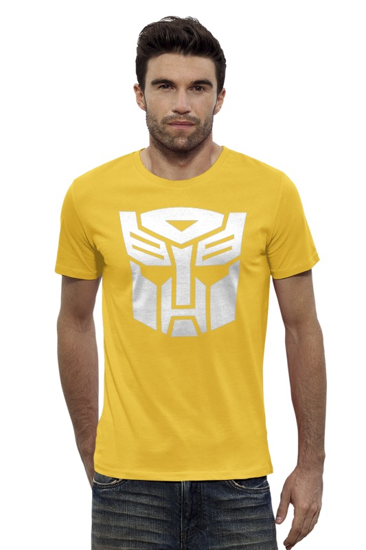 Футболка Wearcraft Premium Slim Fit Printio Transformers autoboats team transformers маска bumblebee c1331