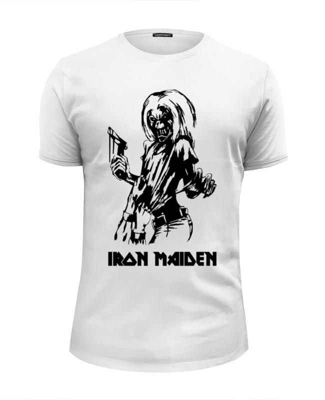 Футболка Wearcraft Premium Slim Fit Printio Iron maiden iron maiden iron maiden running free live