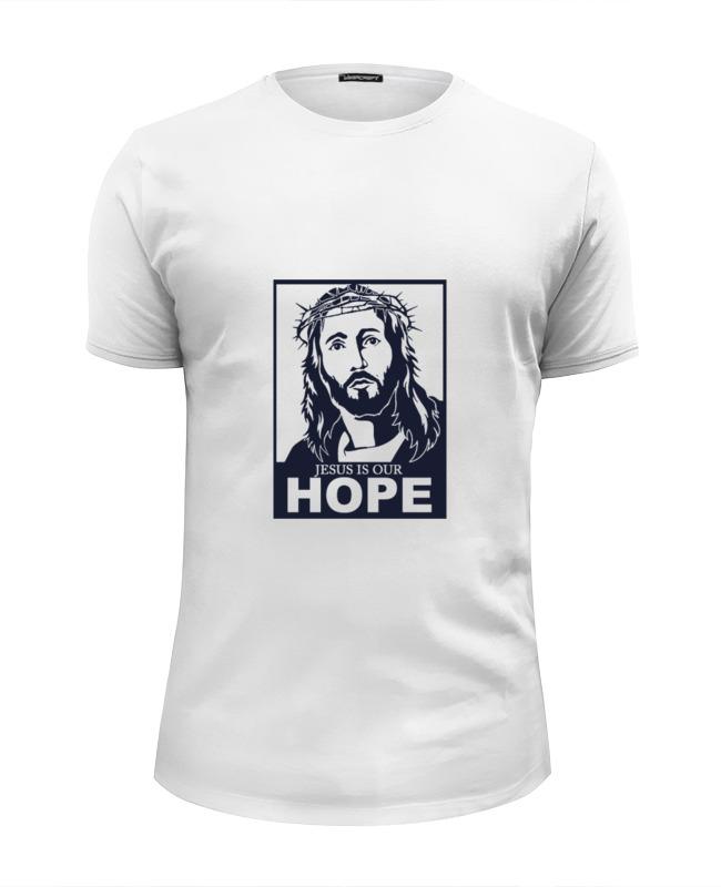 Printio Иисус - наша надежда футболка wearcraft premium printio иисус