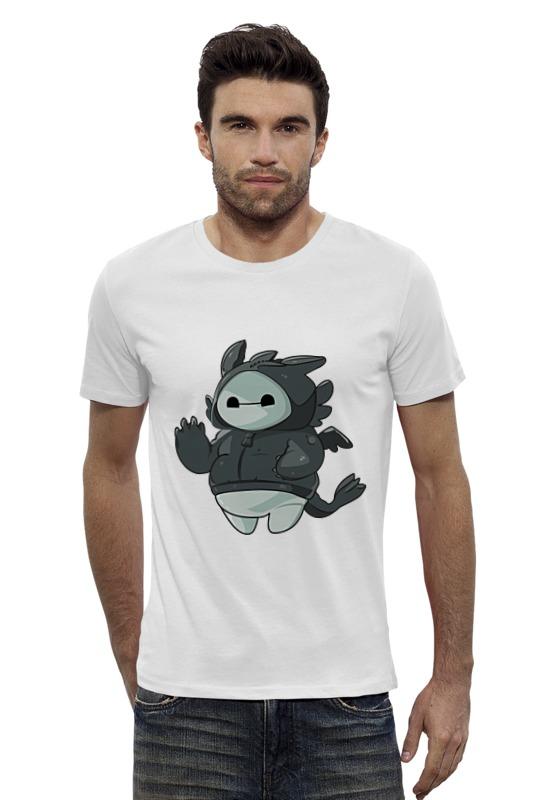 Футболка Wearcraft Premium Slim Fit Printio Баймакс (ночная фурия) футболка wearcraft premium slim fit printio баймакс город героев