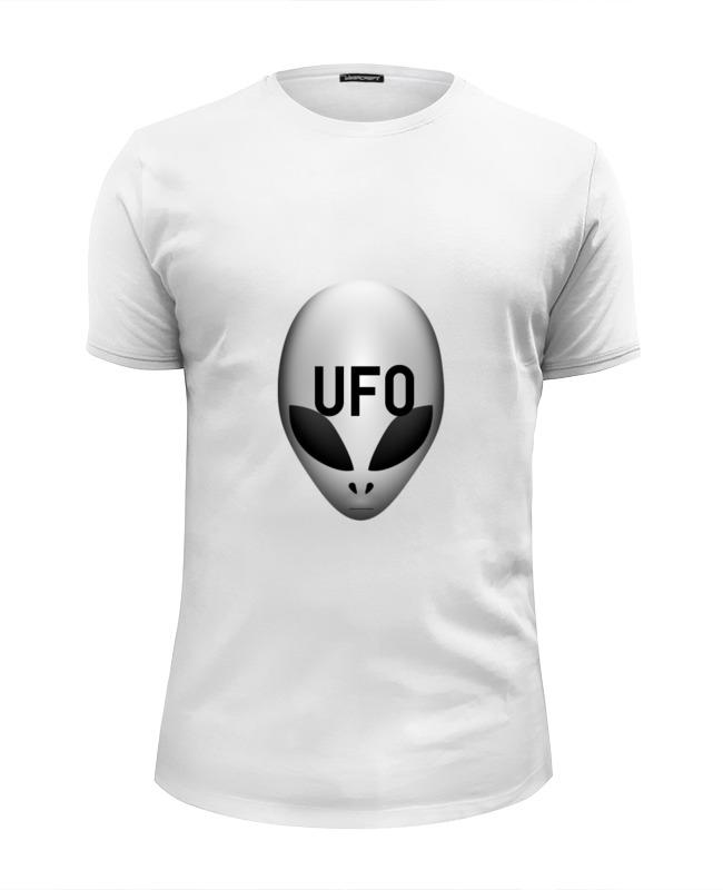 Футболка Wearcraft Premium Slim Fit Printio Пришелец ufo детская футболка классическая унисекс printio пришелец ufo