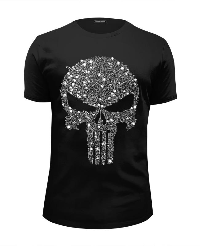 Printio Punisher - каратель футболка wearcraft premium slim fit printio каратель