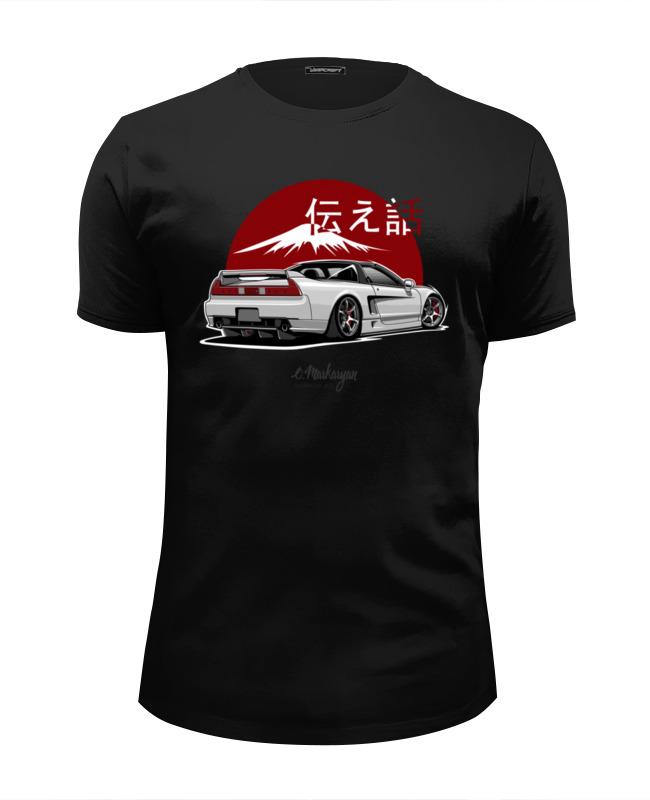 Футболка Wearcraft Premium Slim Fit Printio Honda acura nsx футболка honda
