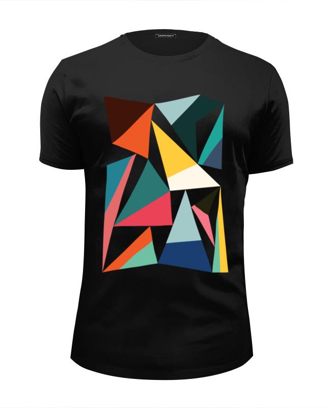 Футболка Wearcraft Premium Slim Fit Printio Треугольники футболка wearcraft premium printio современный дизайн треугольники и цветы 1