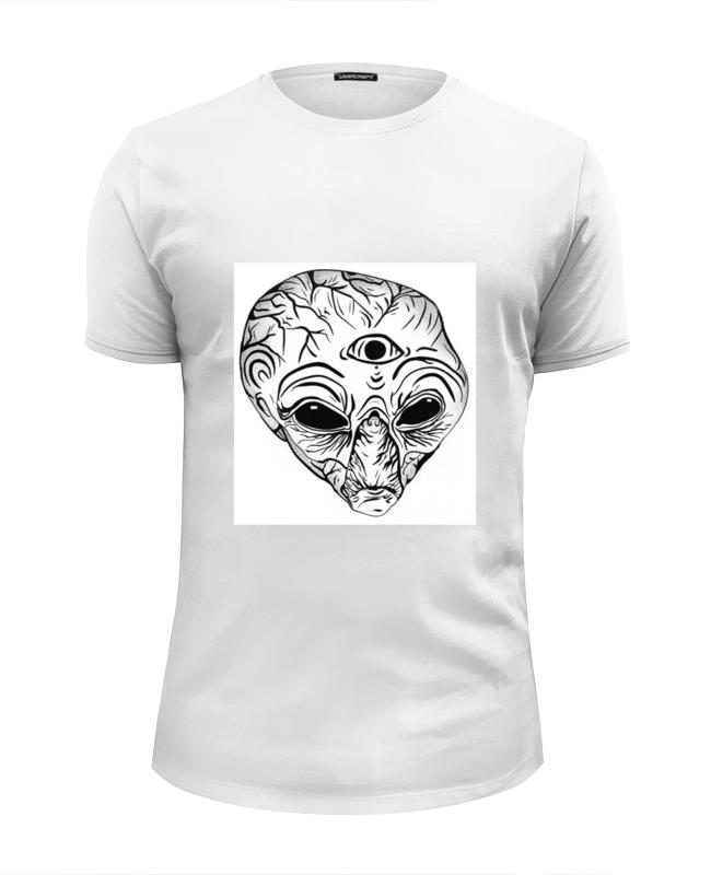 Футболка Wearcraft Premium Slim Fit Printio Инопланетянин футболка wearcraft premium printio я тебя вижу