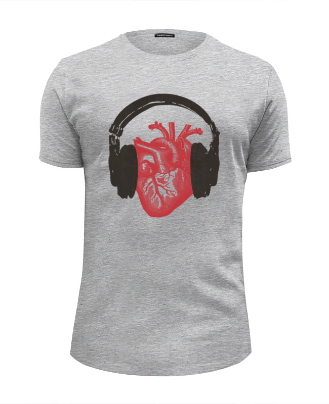 Футболка Wearcraft Premium Slim Fit Printio Love music футболка wearcraft premium slim fit printio html love