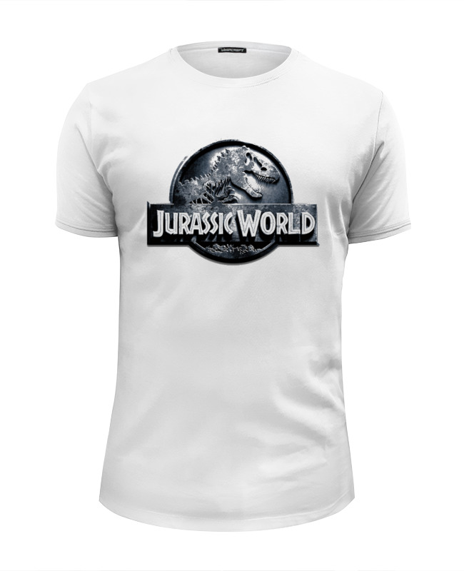 Футболка Wearcraft Premium Slim Fit Printio Jurassic world / парк юрского периода