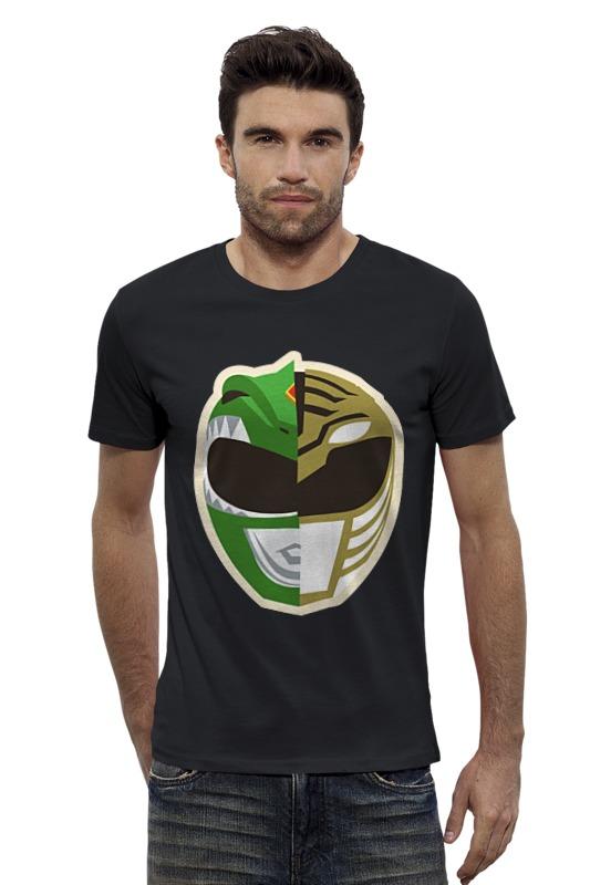 Футболка Wearcraft Premium Slim Fit Printio Могучие рейнджеры футболка с полной запечаткой printio могучие рейнджеры power rangers