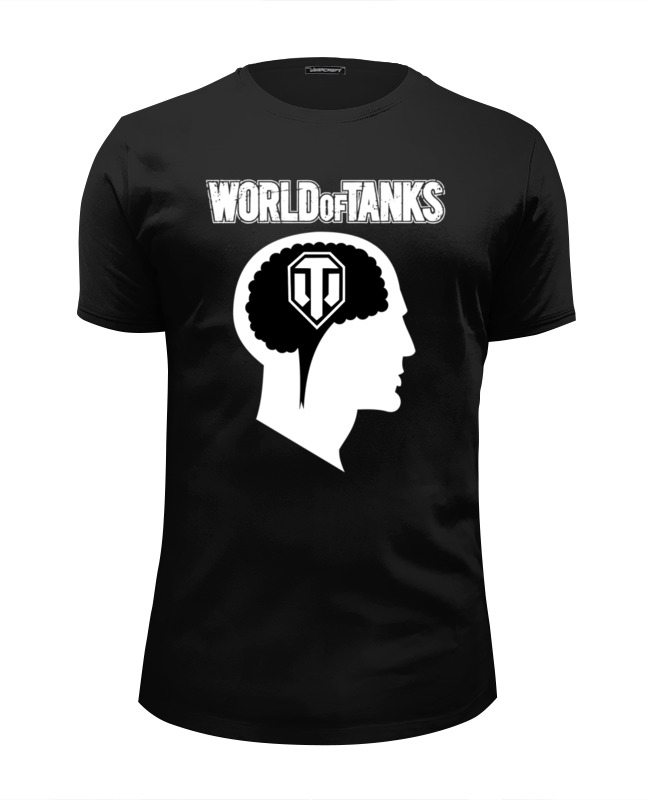 Футболка Wearcraft Premium Slim Fit Printio Brain & wot футболка wearcraft premium slim fit printio office kills my brain