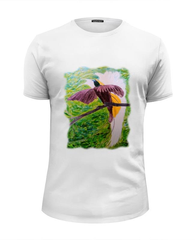 Футболка Wearcraft Premium Slim Fit Printio Малая райская птица футболка классическая printio малая райская птица